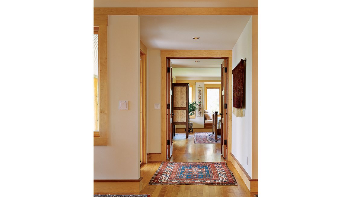 Main Hallway, Entrance, Residence, Home, Sarah Susanka, 5 Questions, Livable Communities
