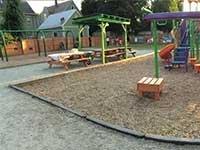 Peace & Plenty Park, in the Elmwood area of Providence, R.I.
