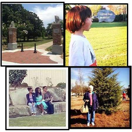 Scenes from Tattnall Square Park in Macon-Bibb, Georgia