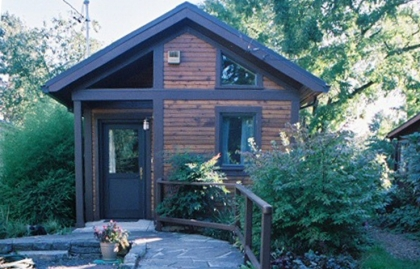 A small home (or accessory dwelling unit) in a Portland, Oregon