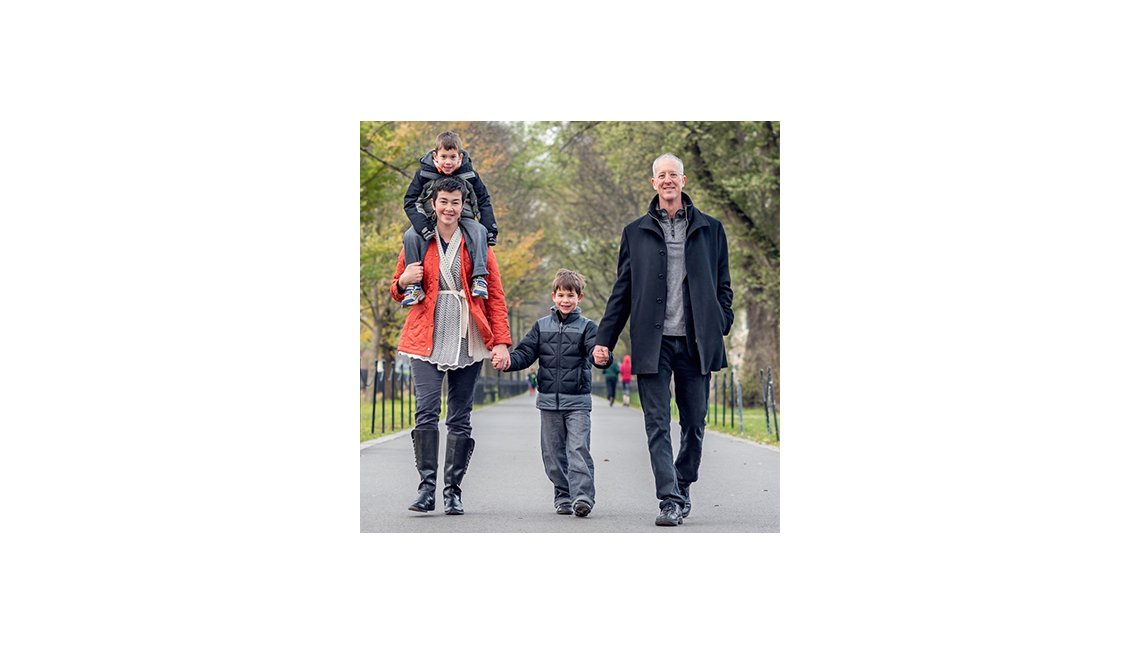 Family Walks Through The Park, City, Livable Communities, Why Older Adults Should Go Car-Free