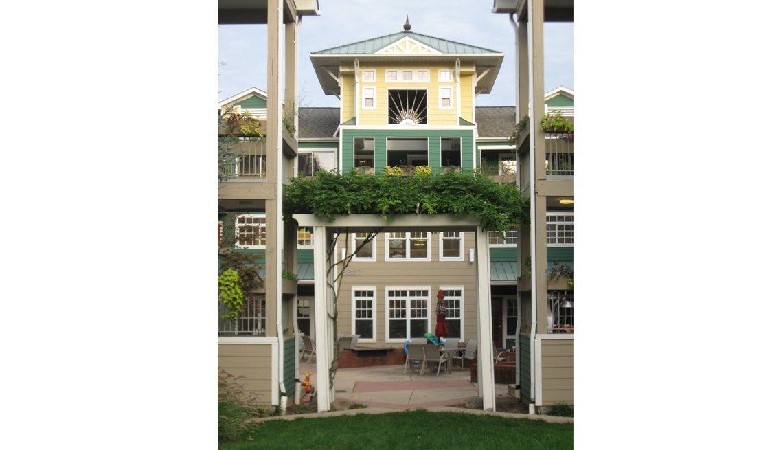 Takoma Village, Co-Housing, Exterior, Residences, Livable Communities