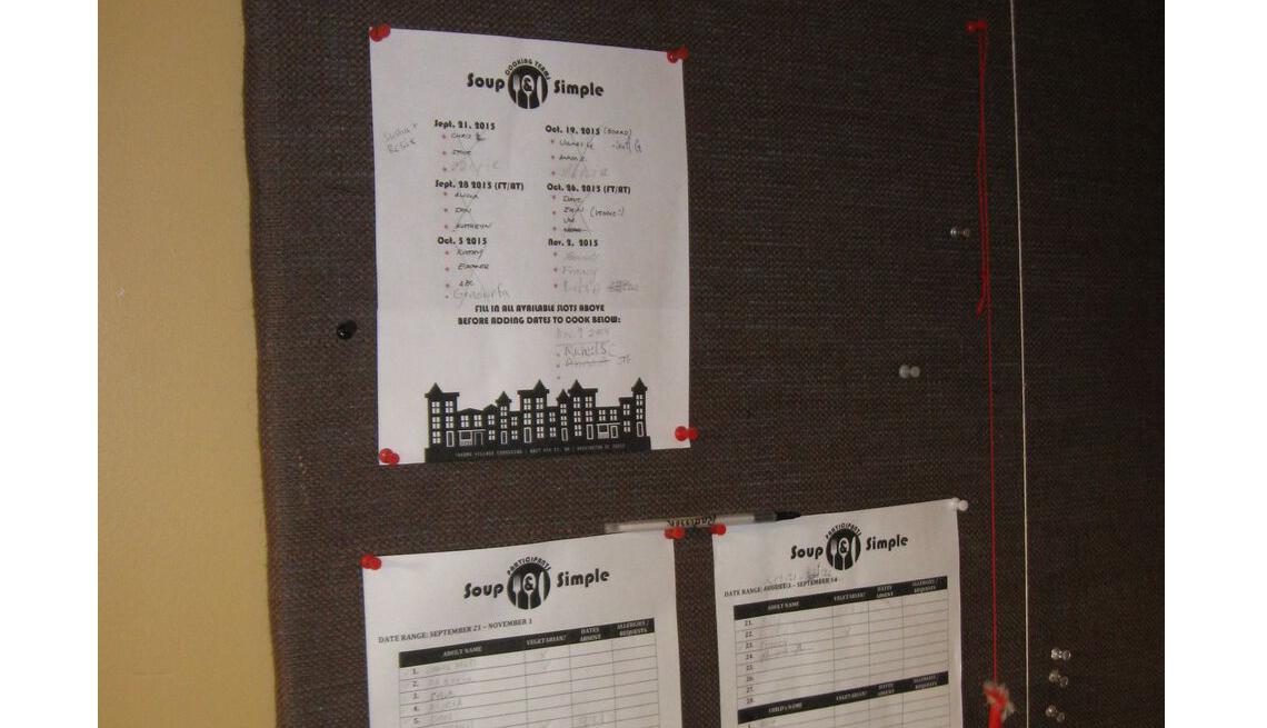 Sign Up Board, Volunteering, Co-Housing, Livable Communities