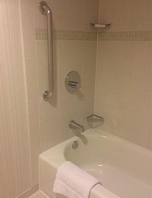 A shower-tub grab bar.