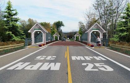 Bridge in Underhill Flats, Vermont