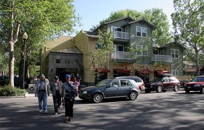 Multi-use structure in Davis, California
