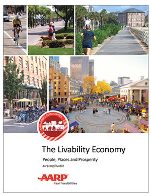 Cover of The Livability Economy Report