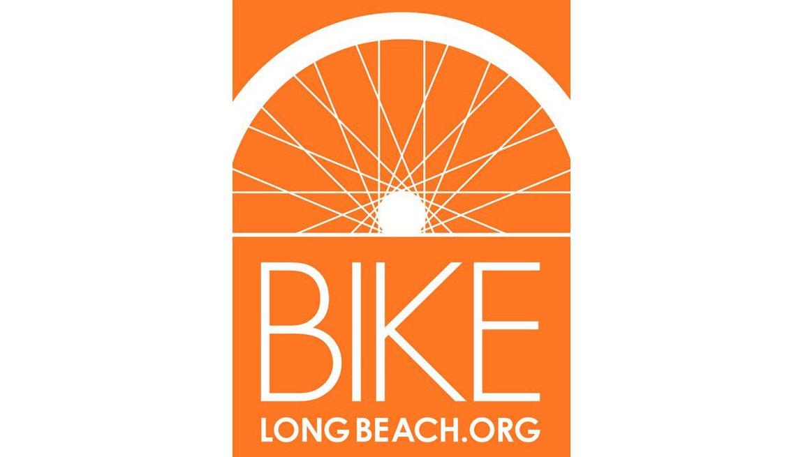 Logo For Bike Long Beach, Logo, Inspiring Livability Efforts, Livable Communities