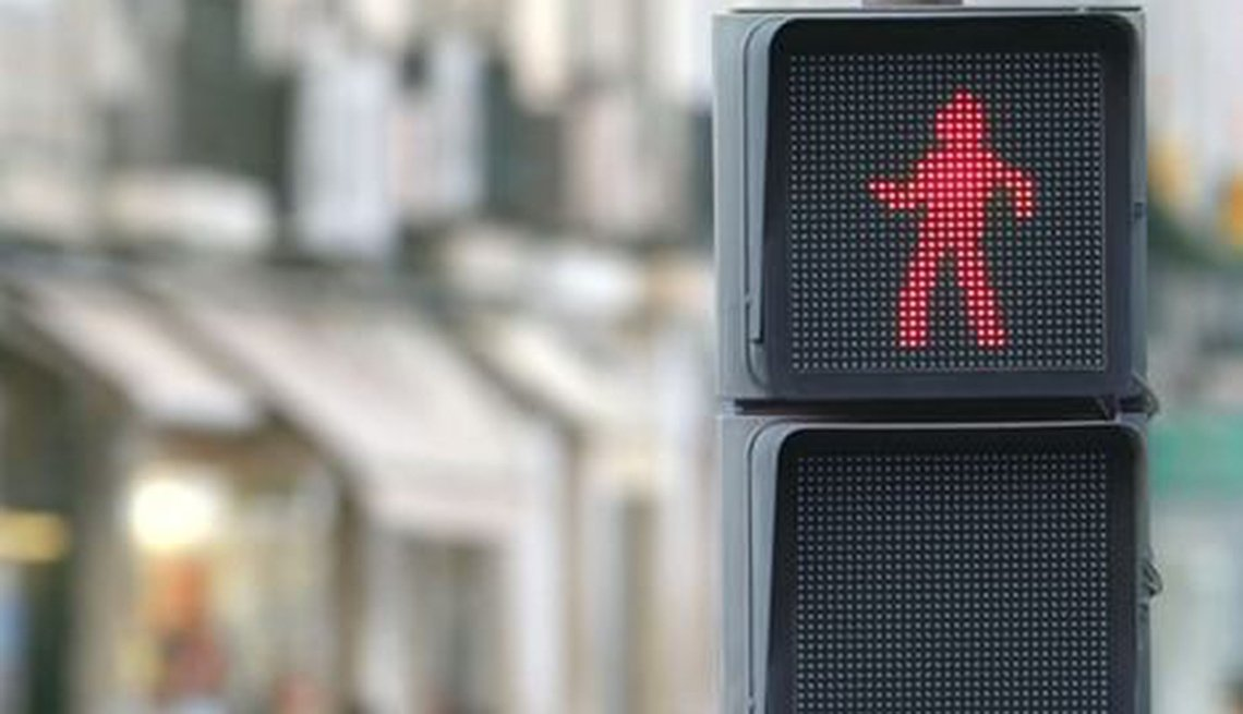 Walking Signal Featuring A Dancing Figure To Indicate When To Cross, Inspiring Livability Efforts, Livable Communities