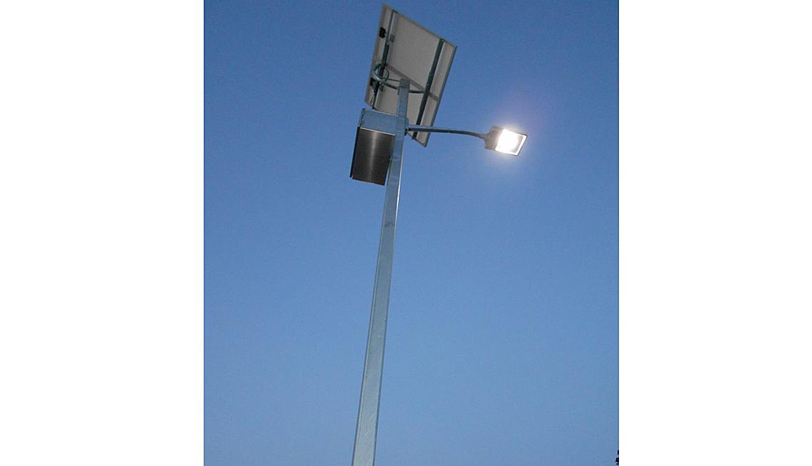 Solar Powered Street Lamp, Solar Energy, Inspiring Livability Efforts, Livable Communities
