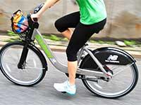 Boston Hubway bike share program