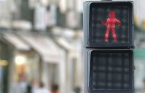 Dancing Crosswalk Signal