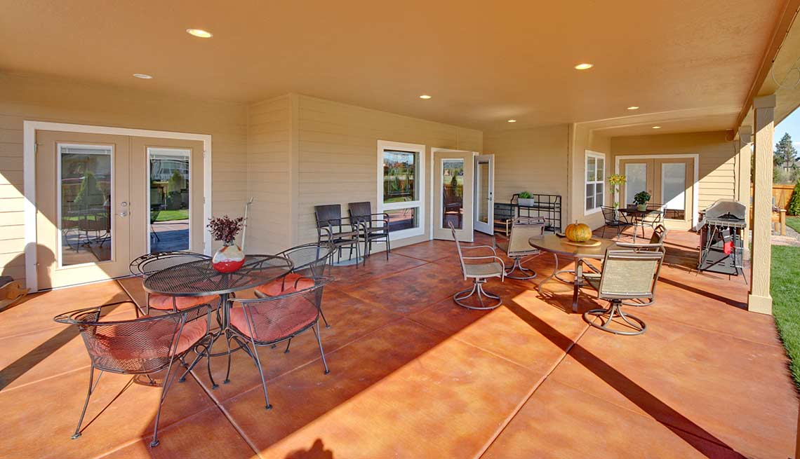 Take a Tour of Our Lifelong Home, backyard