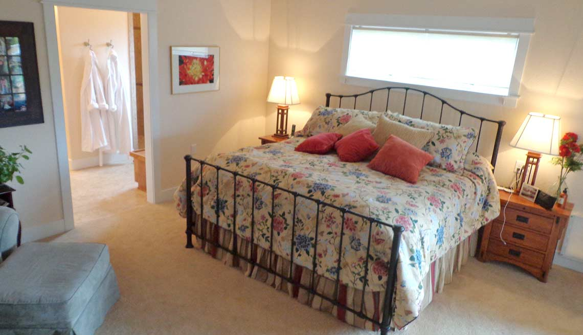Take a Tour of Our Lifelong Home, bedroom