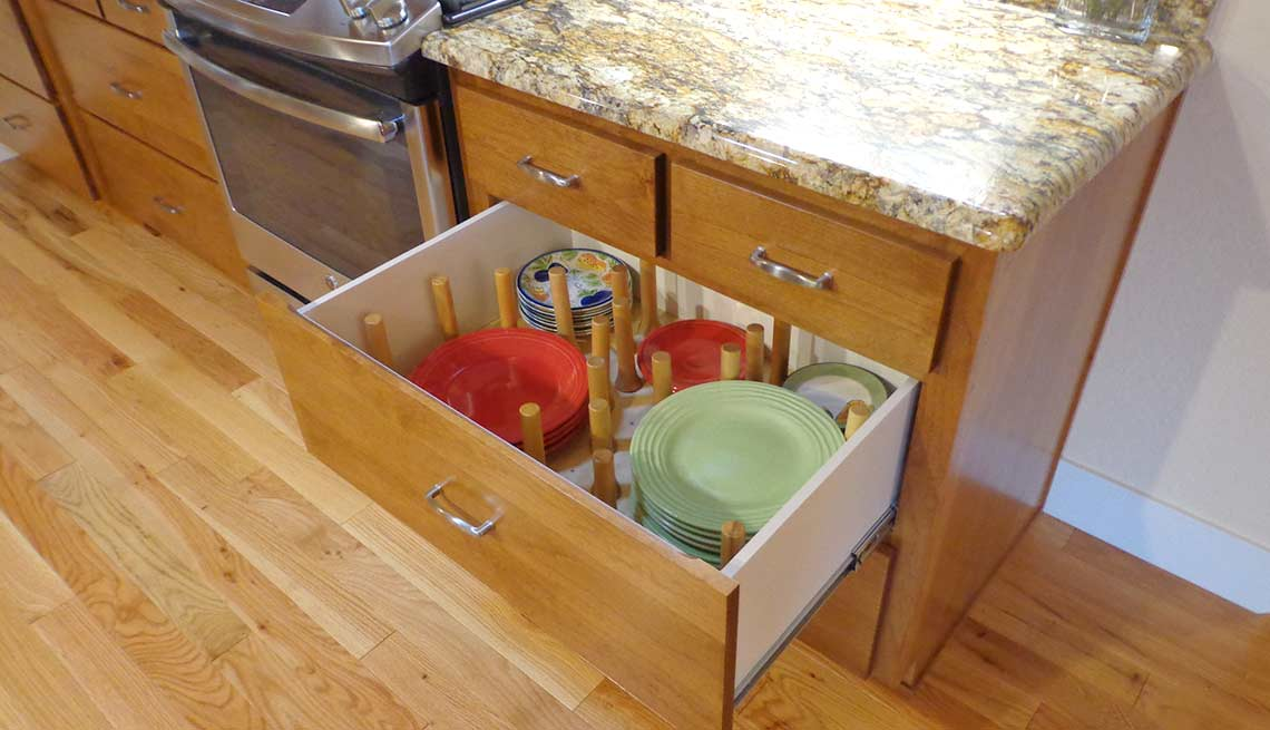 Take a Tour of Our Lifelong Home, cabinetry