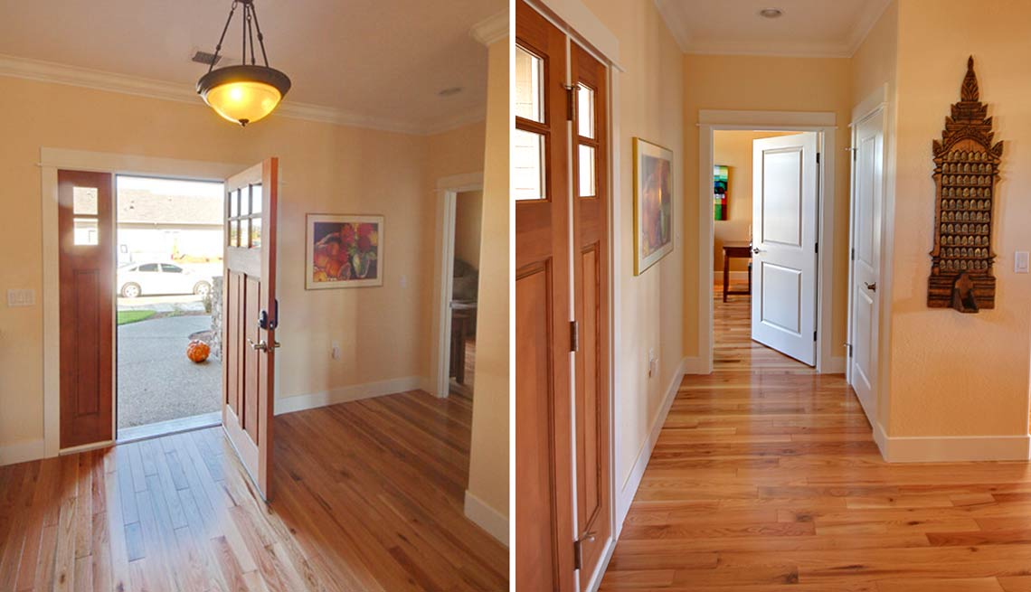 Take a Tour of Our Lifelong Home, entrance