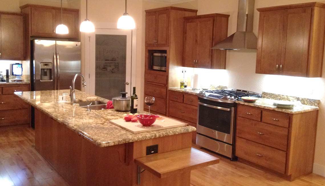 Take a Tour of Our Lifelong Home, kitchen