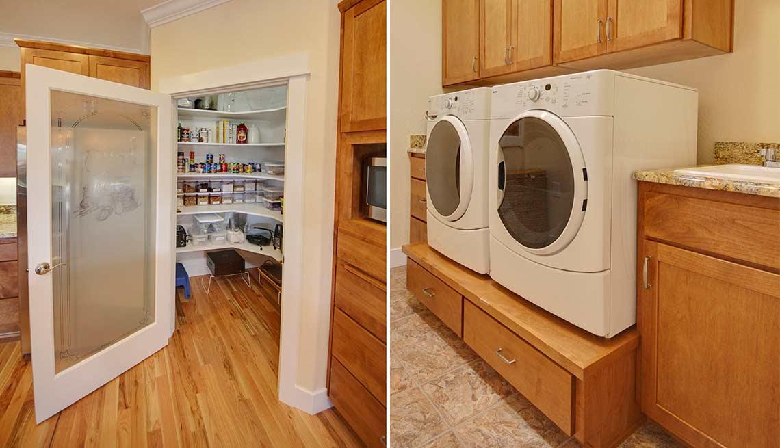 Take a Tour of Our Lifelong Home, storage utilities