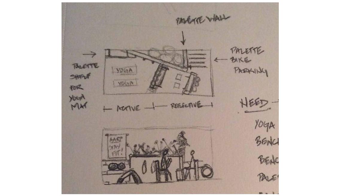 Plans On Paper For Parklet Designs, How To Create A Parklet, Livable Communities