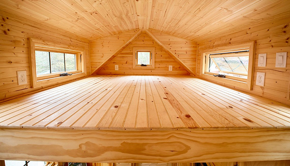 Loft Space For Sleeping Inside Tiny Houses, Livable Communities