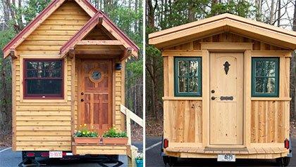 Una mirada a las casitas sostenibles