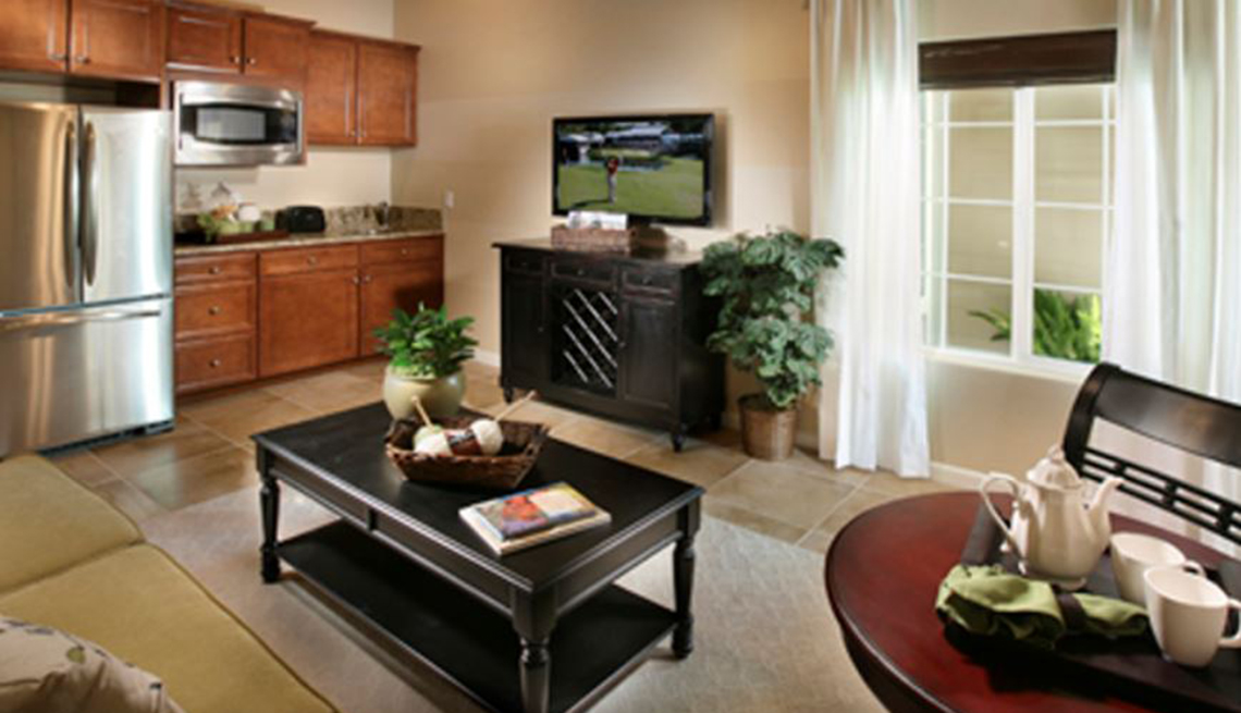 Kitchen, Living Room, Lock-Off Suite, Home Within A Home, Livable Communities