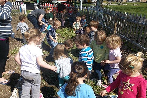 Intergenerational Community Garden, Children, Adults, Senior Adults, Livable Communities, Build Bonds Across Generations