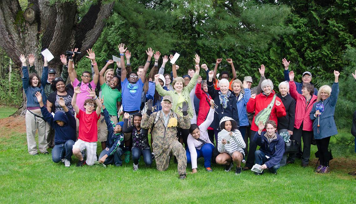 Intergenerational School, Students, Adults, Teenagers, Senior Adults, Livable Communities, Build Bonds Across Generations