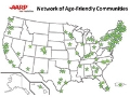 AARP Network of Age-Friendly Communities Member Map