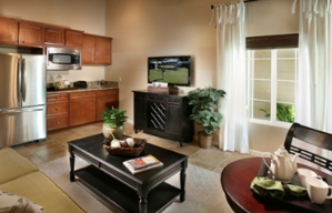 The living area of the second residence within a NextGen multigenerational house.