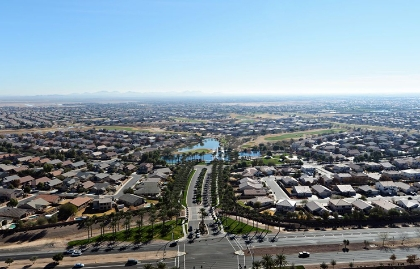 A bird's-eye view of the City of Maricopa, Arizona