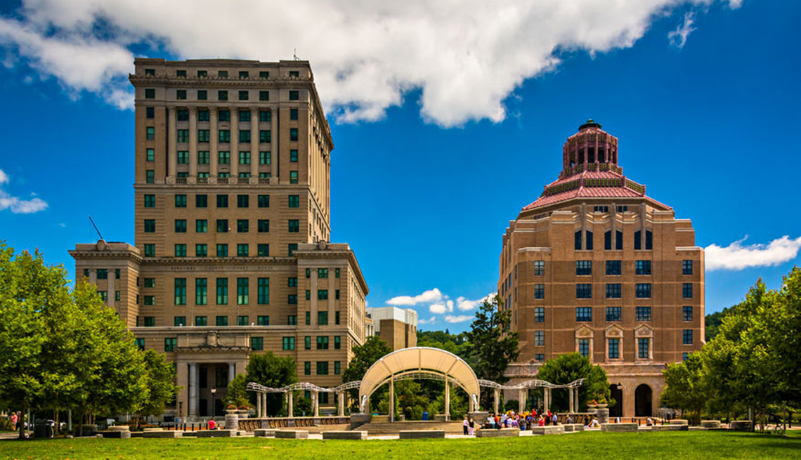City Hall Of Asheville, North Carolina, City Center, Livable Communities, 5 Questions With Gary Jackson