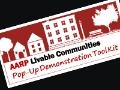 AARP Livable Communities Pop-Up Demonstration Tool Kit logo