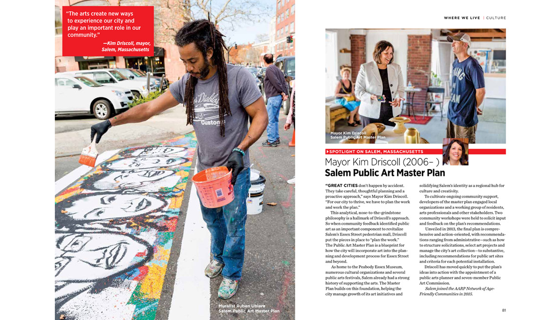 Excerpt From Where We Live, Artist, Layout, Story, Arts And Making Livable Communities