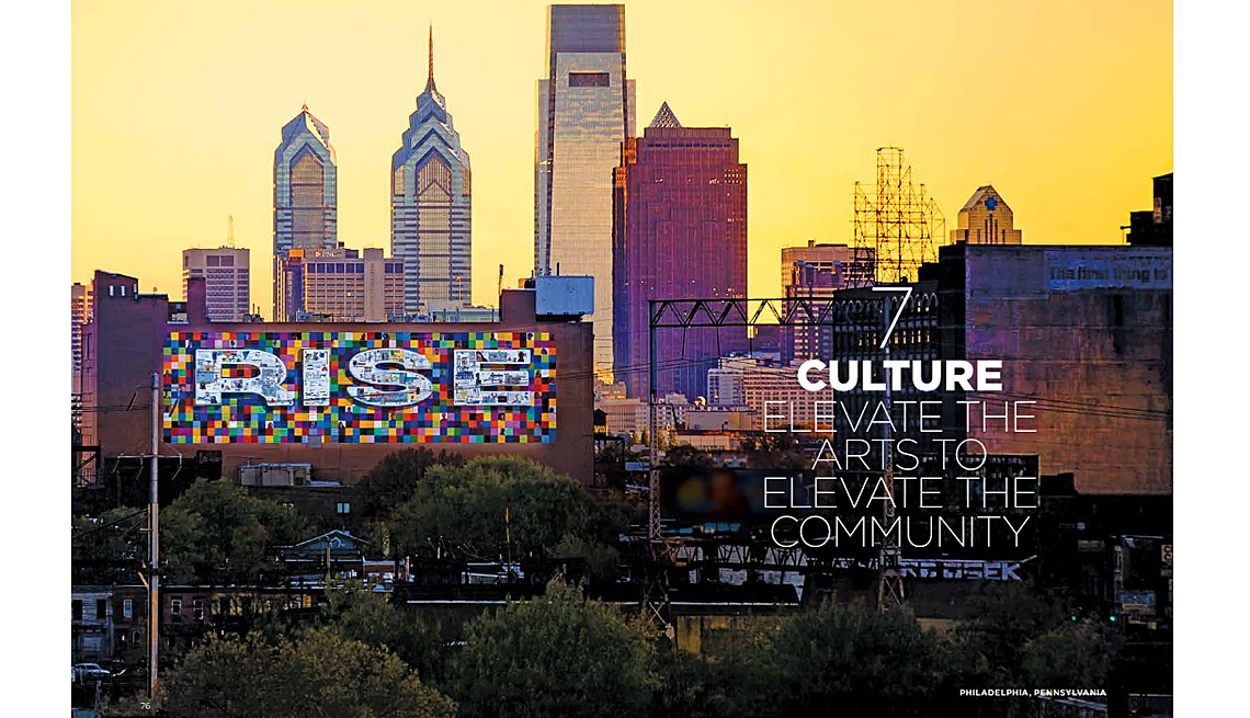 Where we live communities for all ages arts and culture for City of philadelphia mural arts program