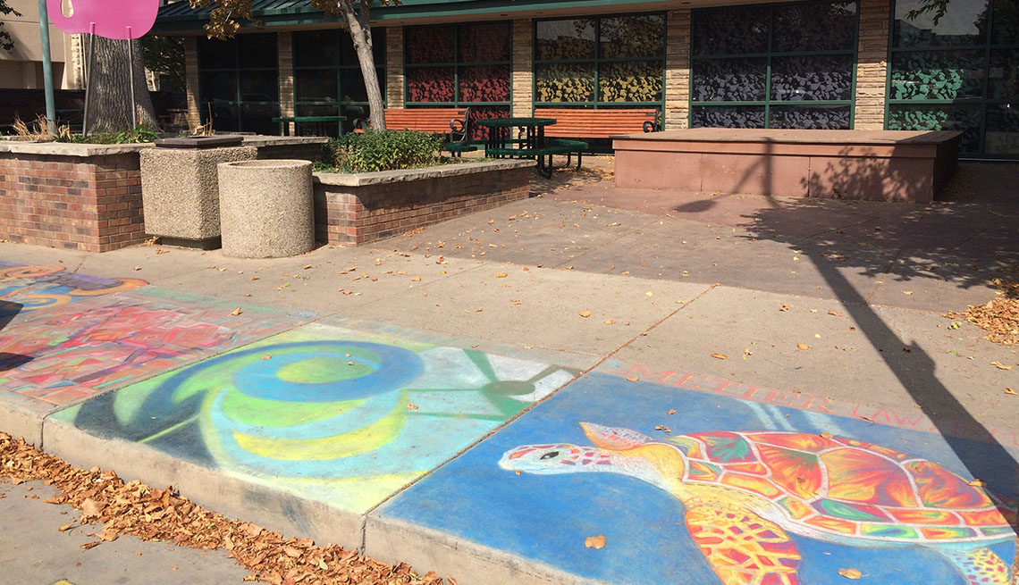 Sidewalk Chalk Art, Drawing, Illustration, Art And Making Livable Communities