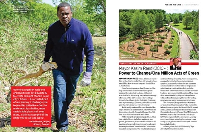 Mayor Kasim Reed as seen in the book Where We Live