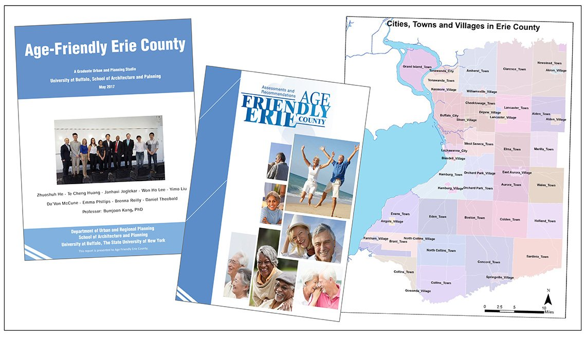 Two reports and a map from Age-Friendly Erie