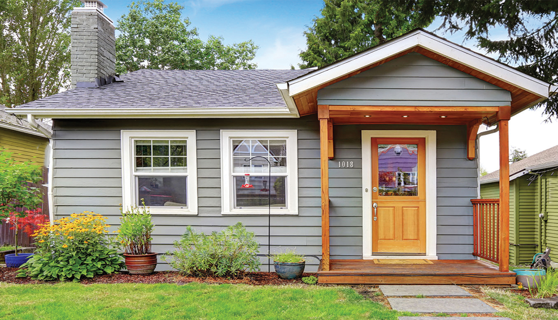 A bungalow style house can be an accessory dwelling unit