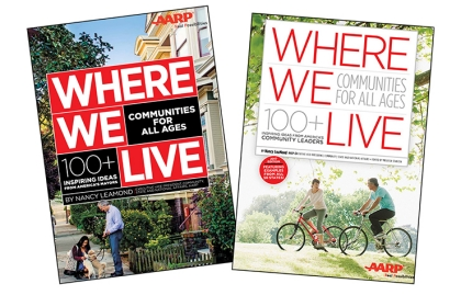 The covers of the 2016 and 2017 versions of Where We Live
