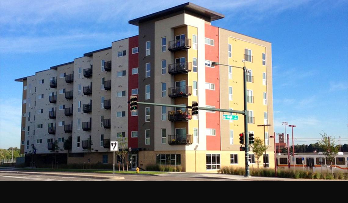 University Station apartments, Denver, Colorado
