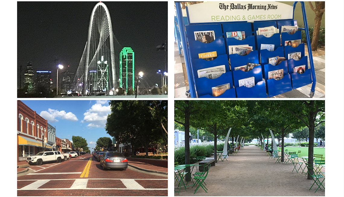 Scenes from in and around Dallas, Texas