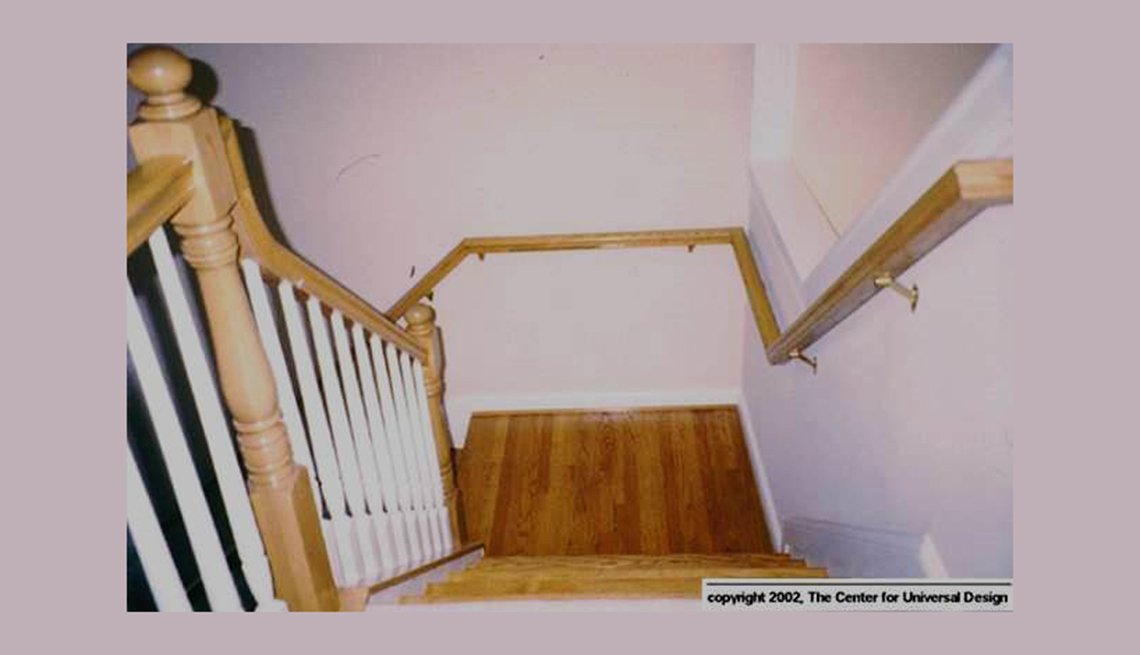 Double Handrails, Staircase, 'Aging Friendly' Improvements for Most Every Home Remodeling Project
