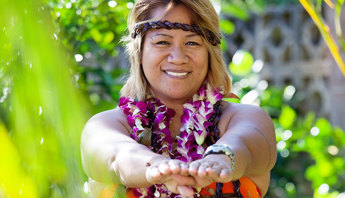 Hula moves, Helping Make Dreams Come True, AARP Livable Communities