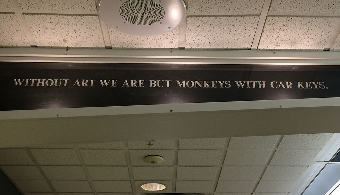 Quotation on Art, University of Maine, Signs that Say So Much