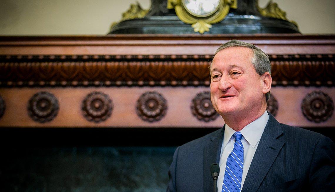 Portrait of Philadelphia Mayor Jim Kenney
