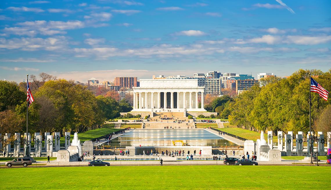 Lincoln Memorial, Washington D.C., AARP Livable Communities, Moving an Age-Friendly D.C.
