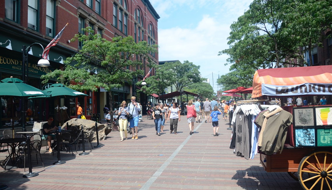 Pedestrian-only Byways, AARP Livable Communities Slideshow: A Show and Tell