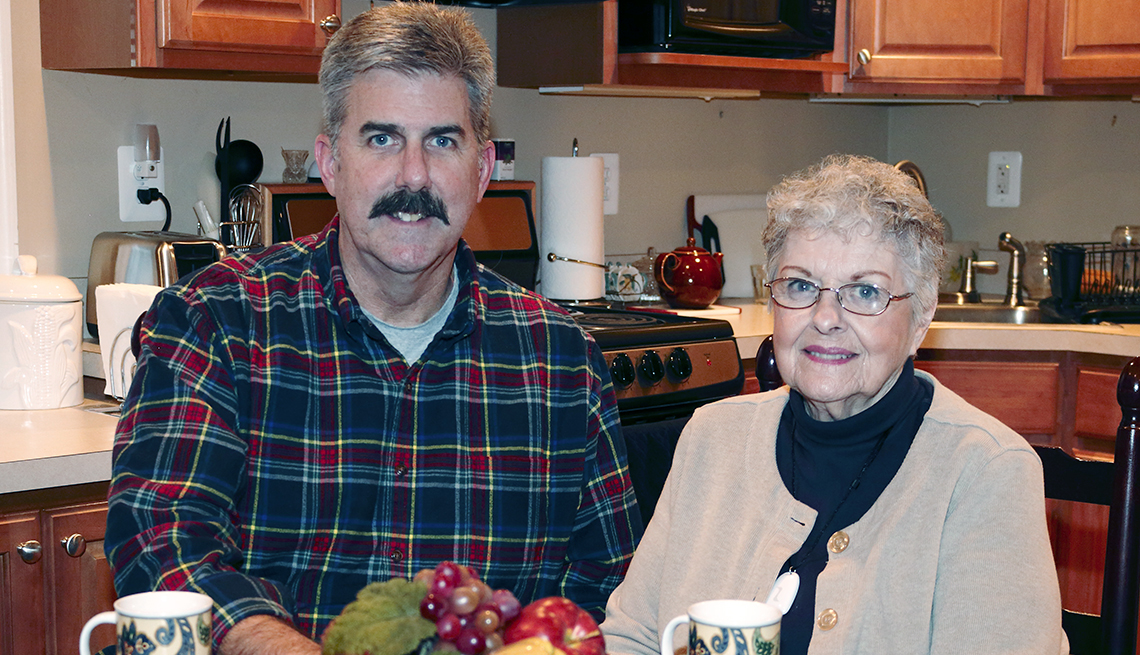Vince Butler and his Mother, Home, Kitchen, Coffee, 'Aging Friendly' Improvements for Most Every Home Remodeling Project
