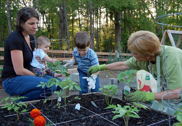Family gardening, Livable Communities